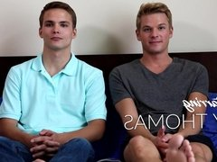 Ty Thomas gets Versatile with 20yo Twink in his First Porn!