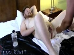 Fisting males gay first time Sky Wine's got