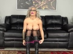 Alyssa Lynn Is a Lingerie Wearing Naughty MILF Who Loves To Fuck Live