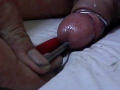 cock torture with sound and electrocution