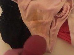 Weared Panty Pantie Slip Voyeuer Cum Wichsen Cousin Aunt