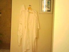 bathroom hidden cam MILF