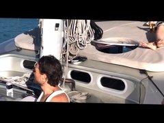 oops no panties while sailing