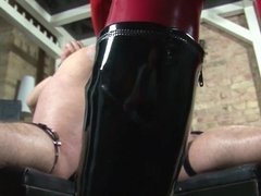 Restrained and fisted