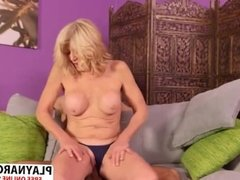 Big tits Milf Kendall Rex Gives Titjob Well Touching Son