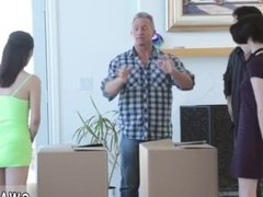 Daddy fucked my ass hard hot mom punishment