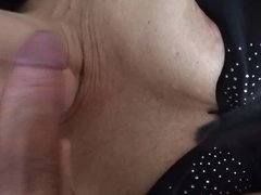 Wife licks Cock 1