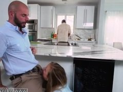 Brunette public bathroom blowjob Alyssa