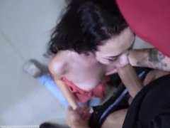 Flexible teen rough When A Stranger Calls