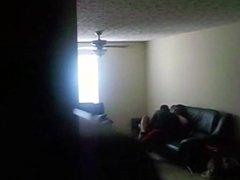 Chubby Black Teen Secretly Filmed by Her Sugar Daddy
