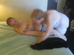 My  first time fucking my grandma