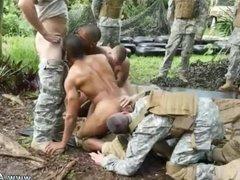 gay sex shower boys Jungle drill fest