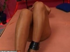 Slutty Asian amateur Milf sucks and fucks with cum on tits