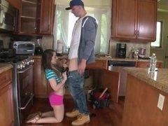 Fat dad and duddy's daughter The Plumber