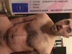 Caged faggot presentation