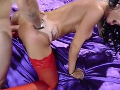 red stocking anal 2