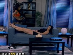Brazzers - Hot And Mean - Up All Night scene starring Anya I