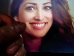 Yami Gautam Oiled Dick Cum Tribute #1