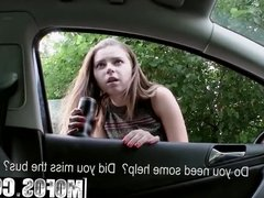 Mofos - Stranded Teens - Marina Visconti - Pulling Over to P