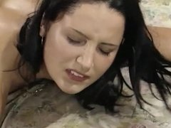 Teen group of girls and boys have a hot sexparty