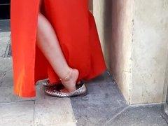yng Gf's hot feet play, sexy legs feets toes