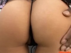 HD big fake tits asian slut mom gets big long black cock pounded