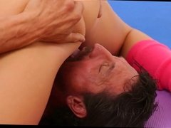 Yoga Class Instructor Gets Fucked