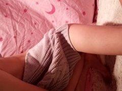 chinese teen girl masturbate in her bedroom