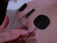 Lesbian electro sex