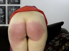 Struggling with the Strap - (Spanking)
