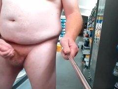 Masturbating at Work