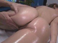 Massage and Fuck a Hot Brunette