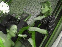 Russian Lesbians, Bridget & Sheila 01 (Recolored)
