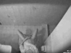 masturbating in the toilet