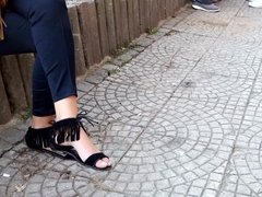 fr's sexy feets toes in sandals