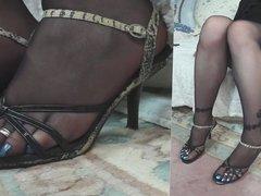 fetish feet pantyhose 01