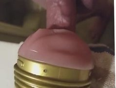 Cockring and fleshlight