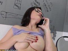 Michele James Loves Big Black Cock - Gloryhole