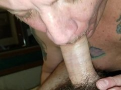 Cock to cock fun with a friend