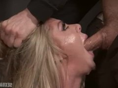 big titted bimbo bound and fucked rough and hard