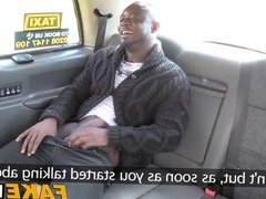 Antonio gets sucked off by fake female taxi driver