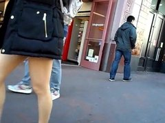 BootyCruise: Asian Babes Leg Art 18 - Winter Coat & Shorts