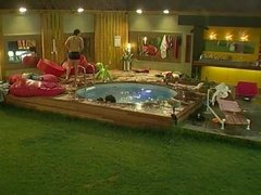UK Big Brother 6 - Makosi And Anthony Have Sex In The Pool