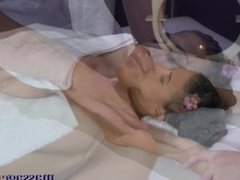 Massage Rooms Orgasms from thick cock for big tits American hottie