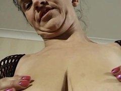 German Mature Woman and Big Tits