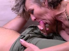 MILF and GILF suck and fuck young cocks