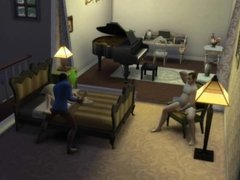 Interracial Cuckold Sims 01