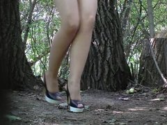 Hidden Cam In Forest Girl Pee Part 6