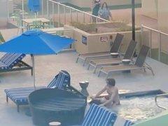 lungkondoi young couple fucking in pool