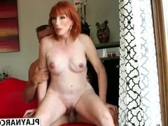 Perfect Mother In Law Diamond Red  Seduces Hot Hot Son's Friend